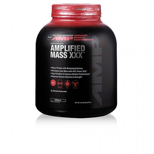 GNC Pro Performance AMP Amplified Mass XXX - Vanilie 2727 g