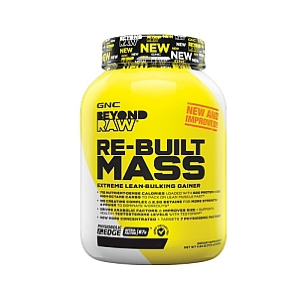 GNC Beyond RAW Re-Built Mass Capsuni Milkshake 2172.5 g