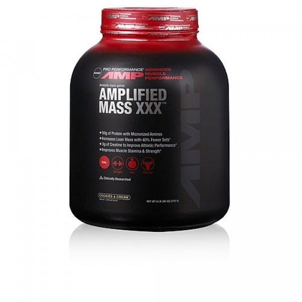 GNC Pro Performance AMP Amplified Mass XXX - Biscuiti si Frisca 2727 g