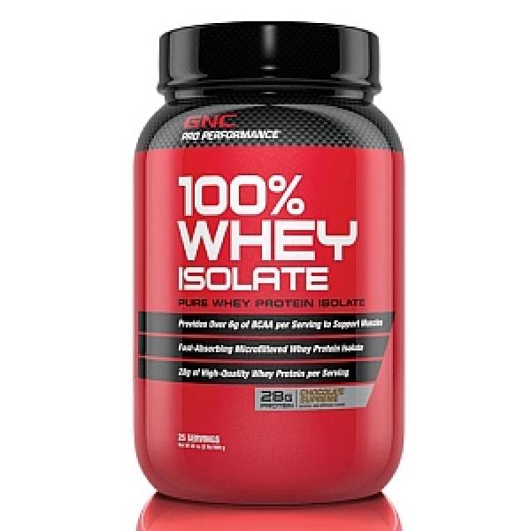 GNC Pro Performance 100% Izolat Proteic din zer-Ciocolata 909 g