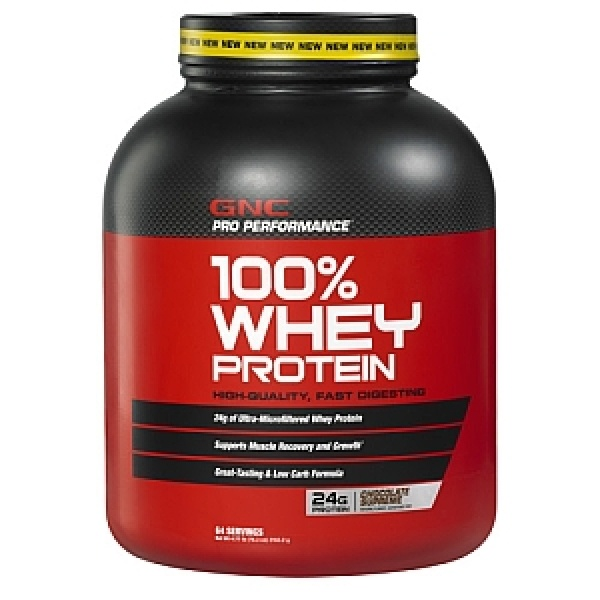 GNC Pro Performance 100% Proteina din zer cu aroma de ciocolata 2272 g