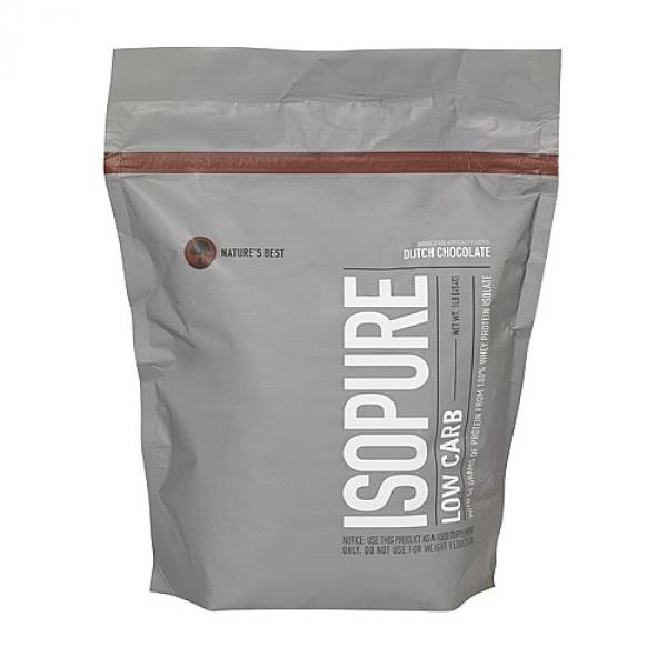 Nature Best Isopure 100% Izolat Proteic scazut in carbohidrati- ciocolata olandeza 454 g