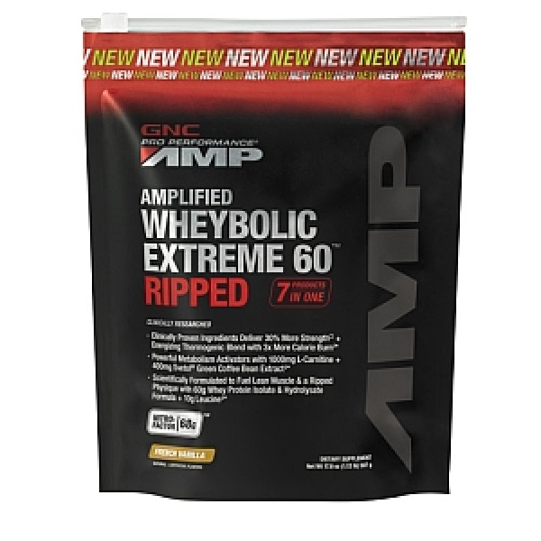 GNC Pro Performance AMP Amplified Wheybolic Extreme 60 Vanilie 507 gr
