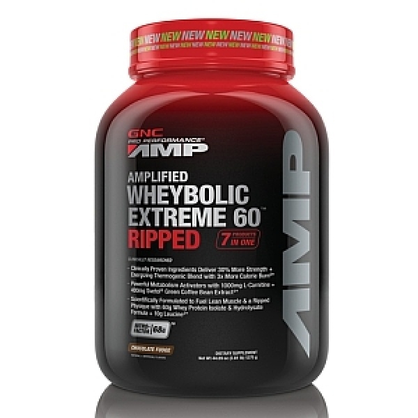 GNC Pro Performance AMP Amplified Wheybolic Extreme 60 Ripped-Ciocolata 1275 gr