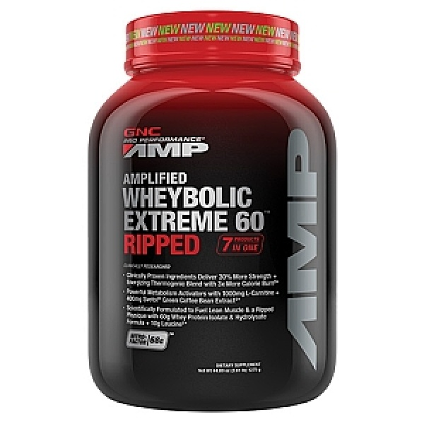 GNC Pro Performance AMP Amplified Wheybolic Extreme 60 Vanilie 1267 gr