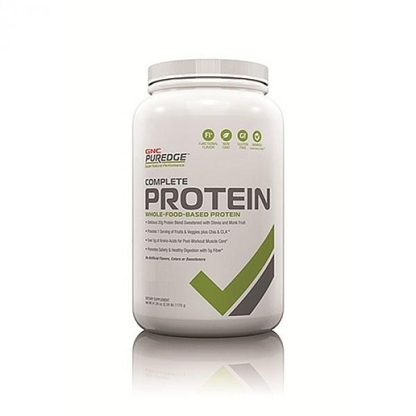 GNC Puredge Complete Protein- cu aroma naturala de ciocolata 1169 g