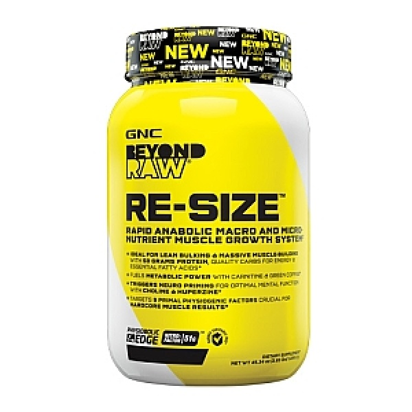 GNC Beyond Raw Re-Size Ciocolata 1326 g