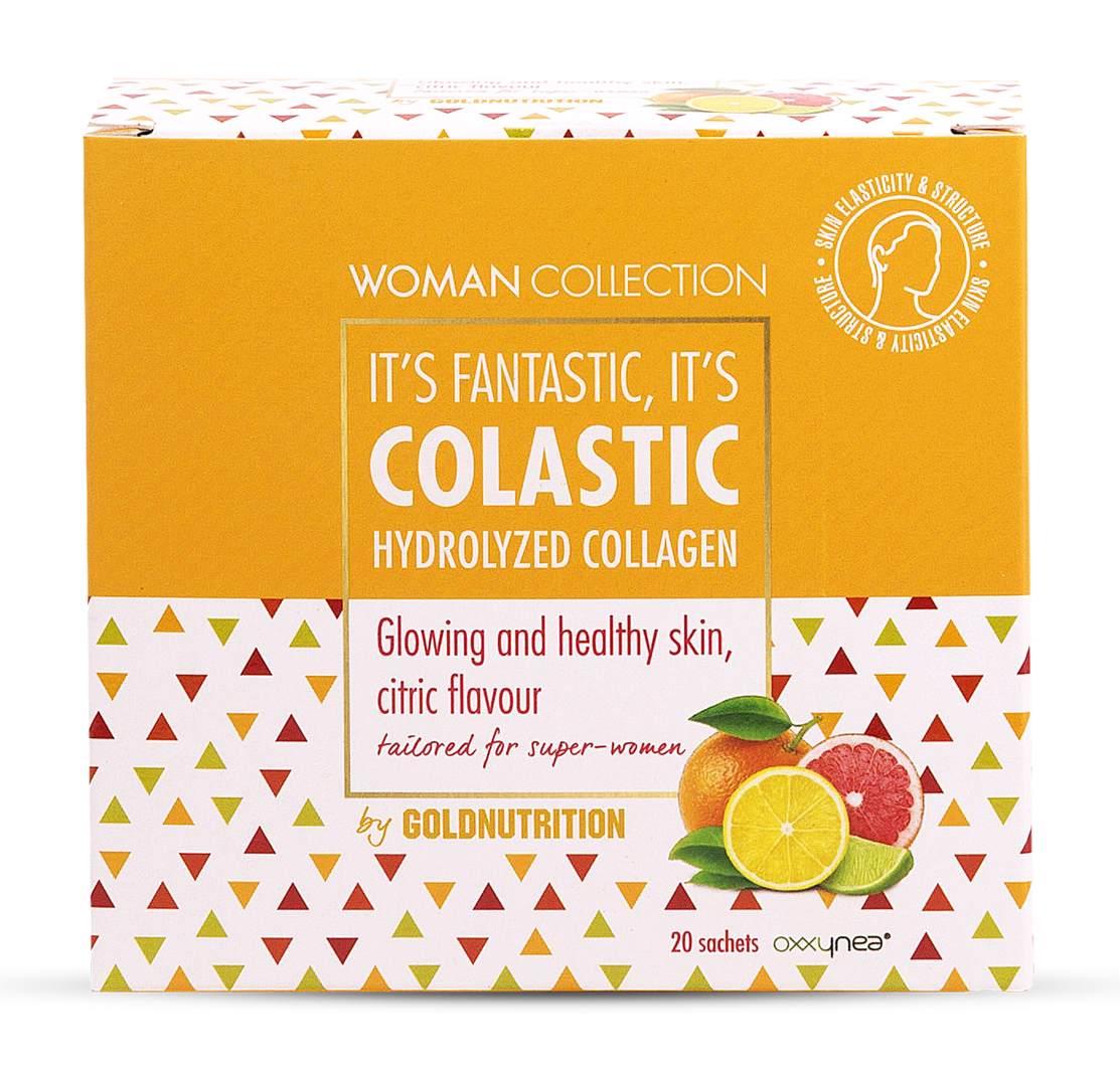 Woman Collection Colastic - Colagen hidrolizat Citrice 20 doze