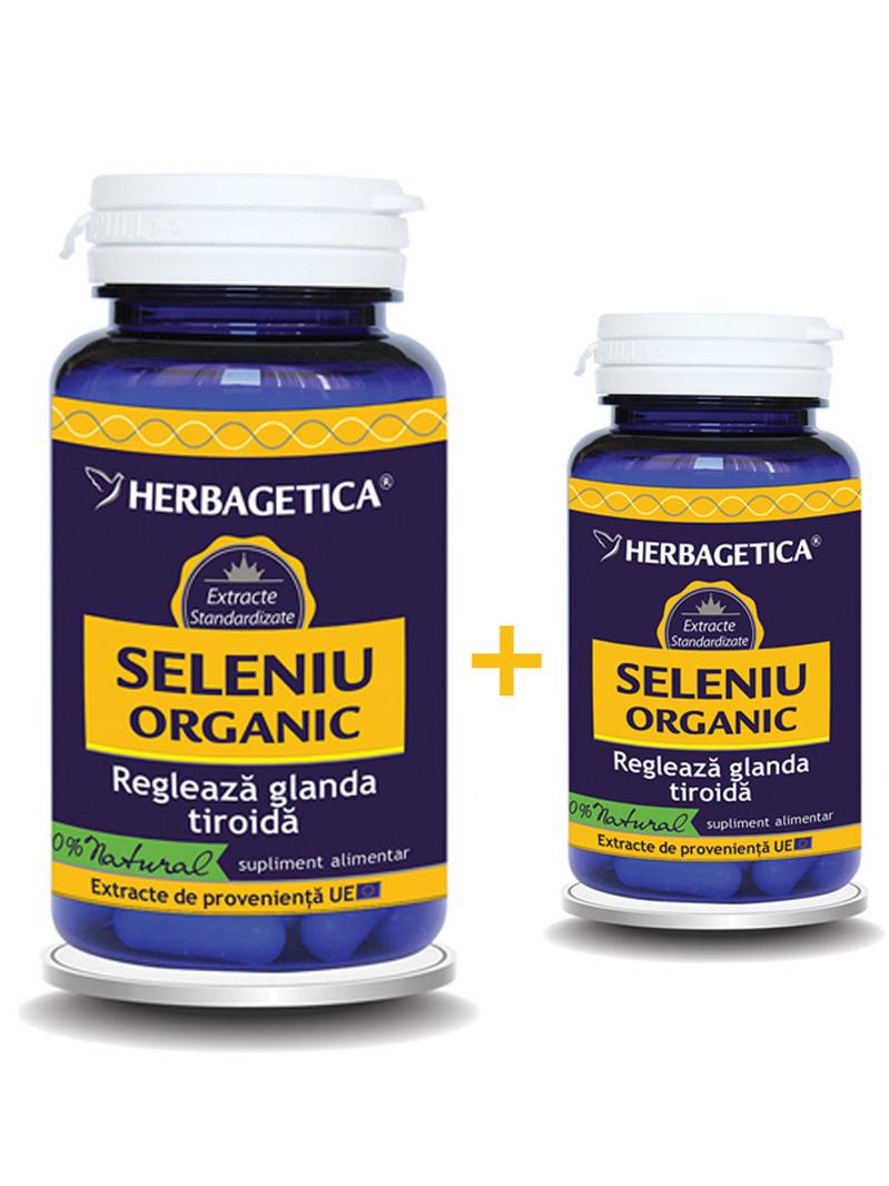 Seleniu Organic Herbagetica 60 + 30 grame gratis