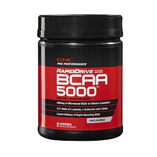 GNC Pro Performance RapidDrive BCAA 5000 - Fara aroma 265 g