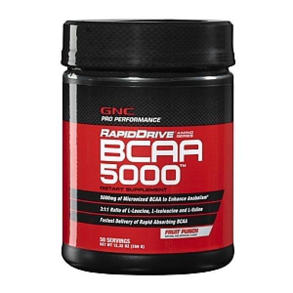 GNC Pro Performance RapidDrive BCAA 5000 - Aroma de fructe 350 g