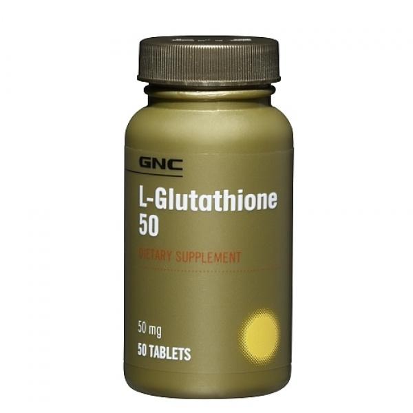 GNC L-Glutation 50 mg 50 tbl