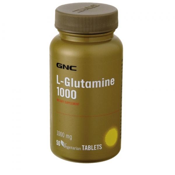 GNC L-Glutamine 1000 50 tbl