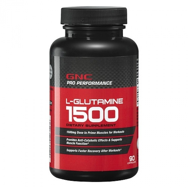 GNC Pro Performance L-Glutamina 1500 mg 90 cps