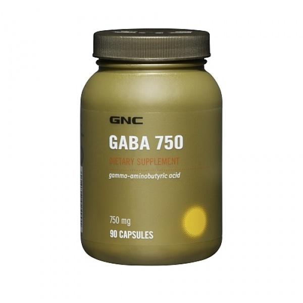 GNC GABA 750 mg 90 cps