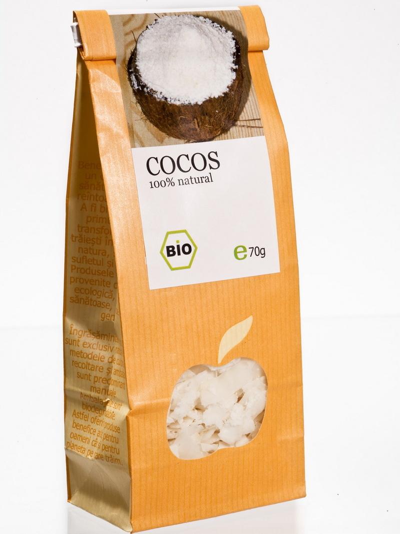 Fructe uscate - Cocos eco Longevita 70 g
