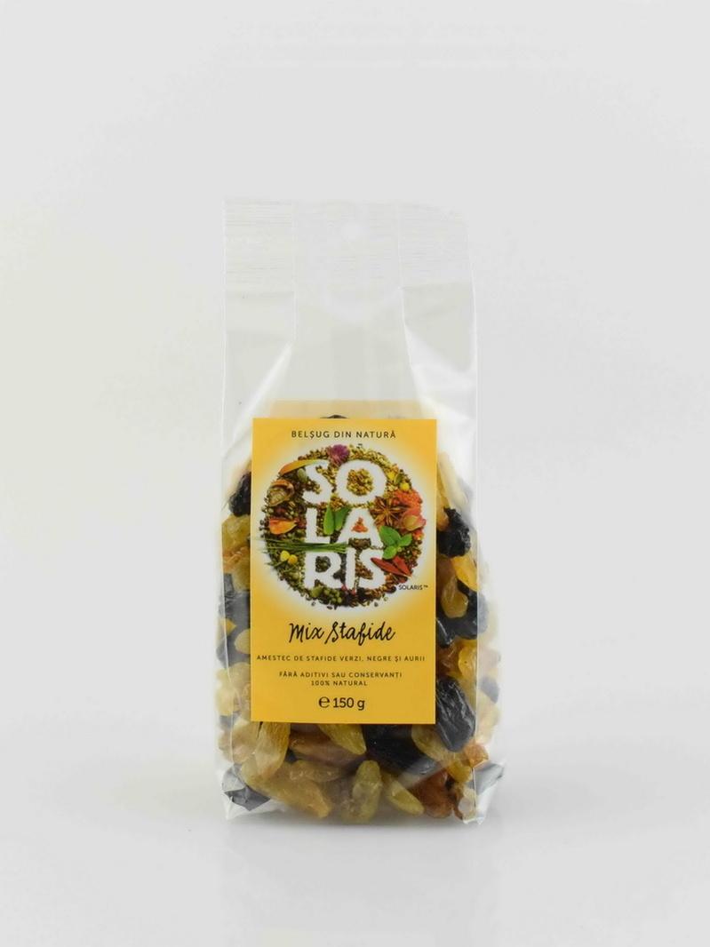 Fructe uscate - Mix stafide Solaris 150 g