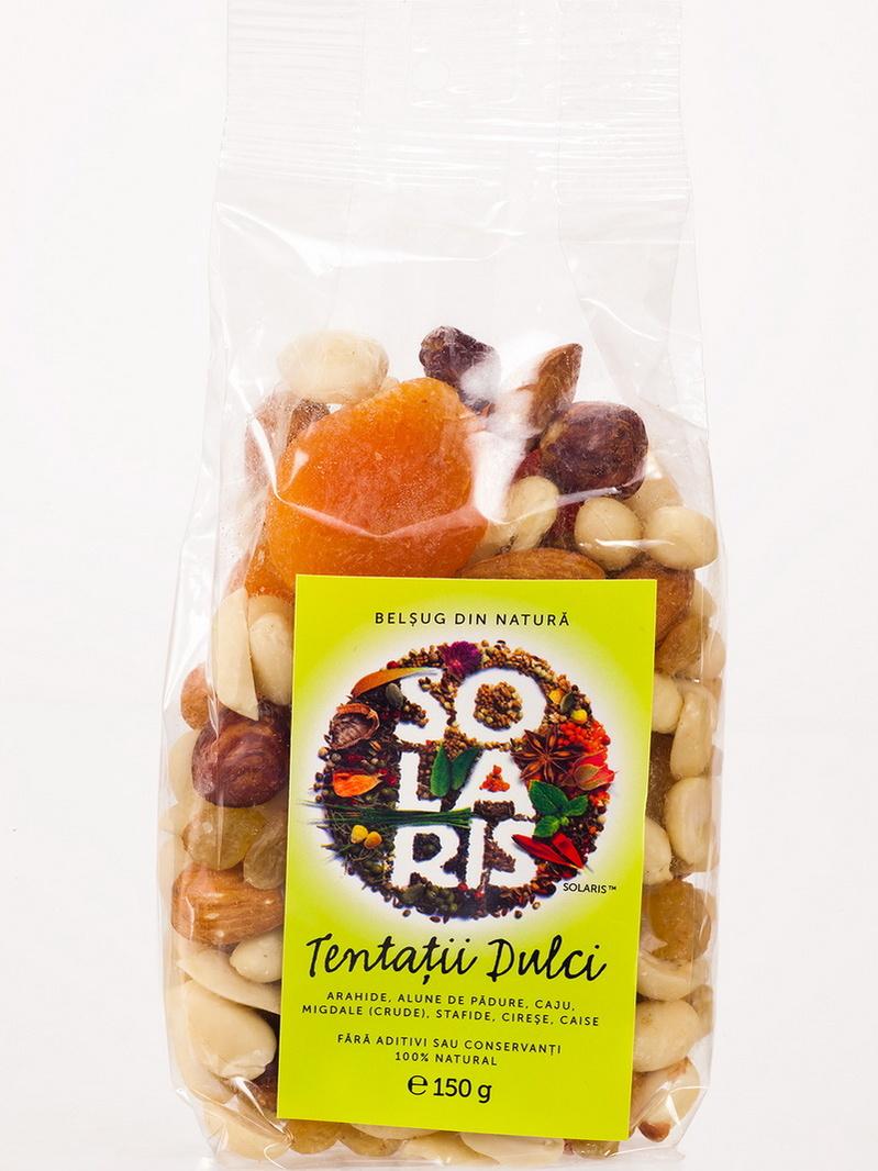Fructe uscate - Tentatii dulci Solaris 150 g
