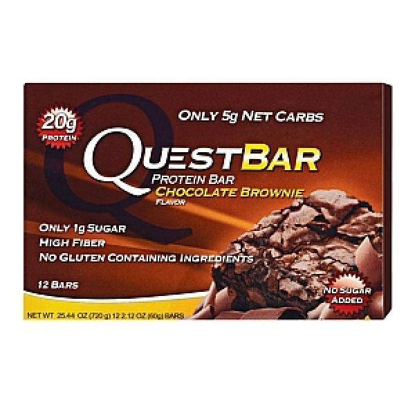 Quest Baton Proteic cu aroma de prajitura cu ciocolata-negresa 60 g