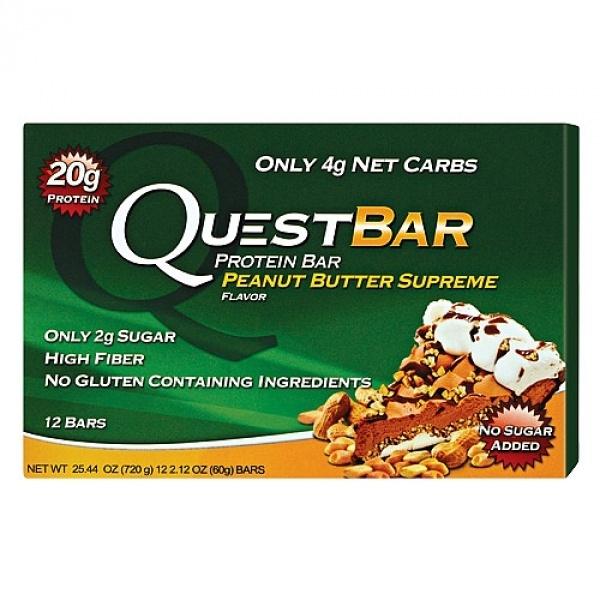 Quest Baton Proteic cu aroma de unt de arahide suprem 60 g
