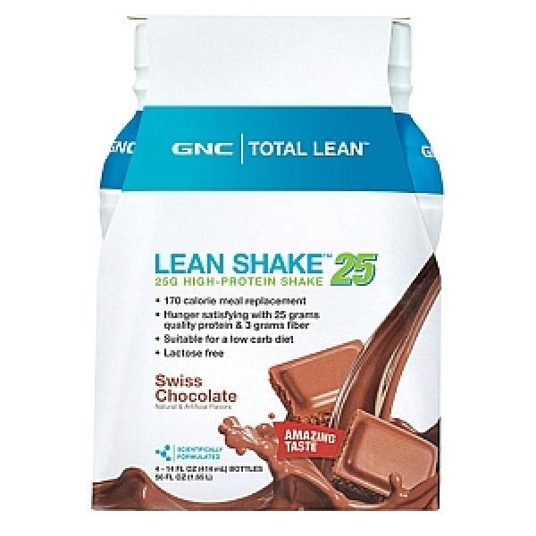 GNC Total Lean Shake Proteic Gata Pregatit-Aroma de ciocolata 414 ml