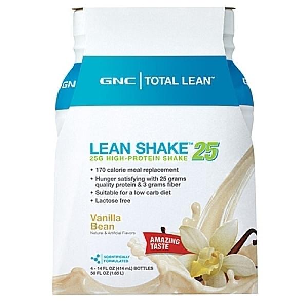 GNC Total Lean Shake Proteic Gata Pregatit-Aroma de vanilie 414 ml