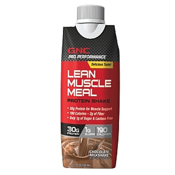 GNC Pro Performance Lean Muscle Meal Shake Proteic-Ciocolata 325 ml