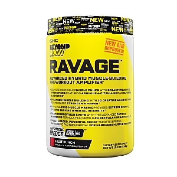 GNC Beyond Raw Ravage - Fruit Punch 434 g
