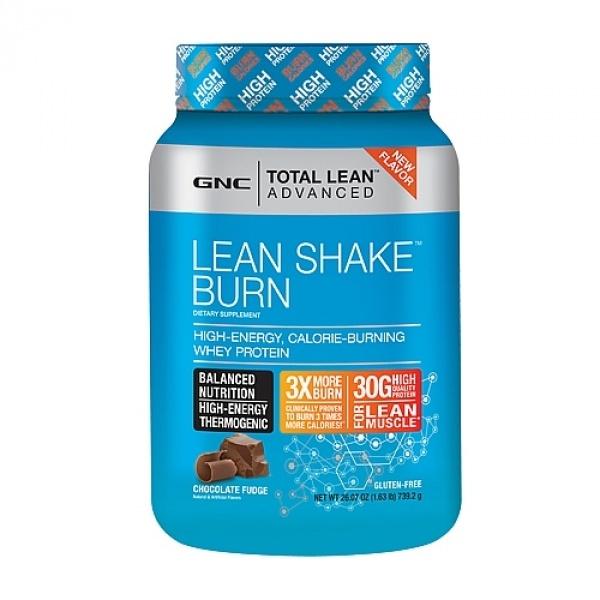 GNC Total Lean Advanced Lean Shake Burn- aroma de ciocolata 757.6 g