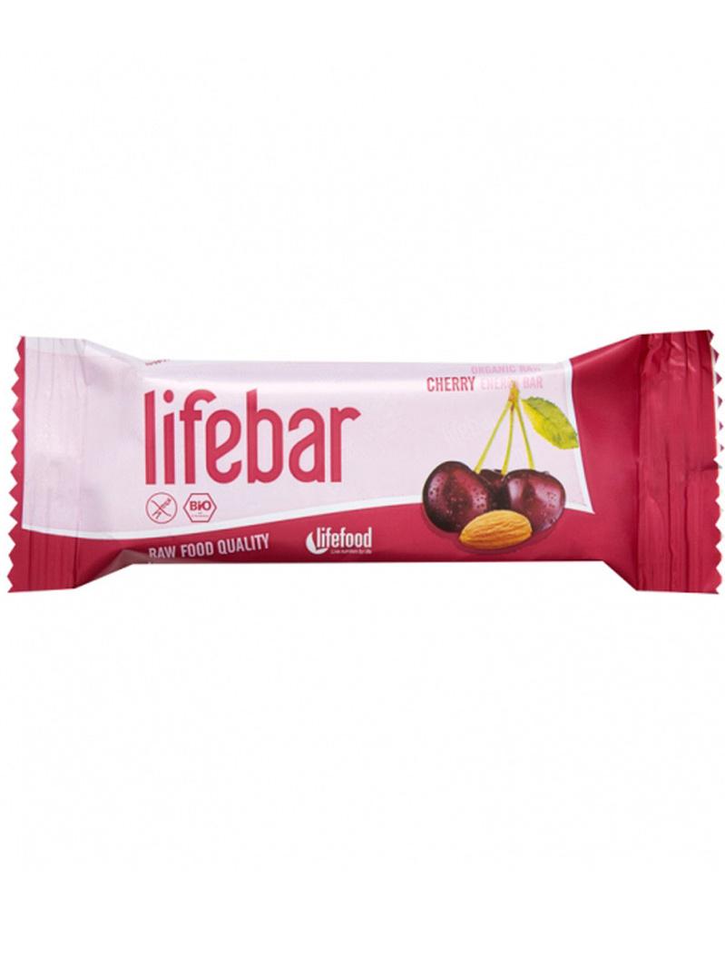 Lifebar baton cu cireșe raw bio 47g