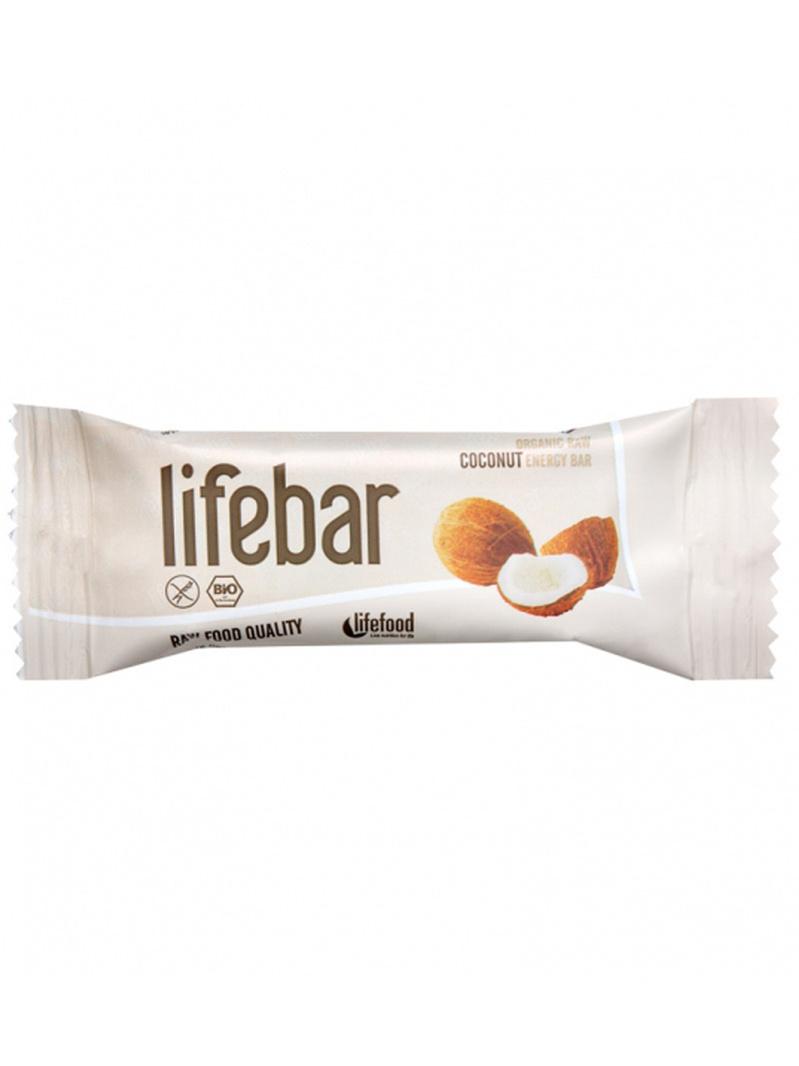 Lifebar baton cu nucă de cocos raw bio 47g