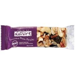 Baton bio cu cirese si nuci pecan Taste of Nature 40g (vegan, fara gluten)