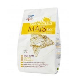 Snack bio triunghiular din porumb 100g (fara gluten, fara drojdie)