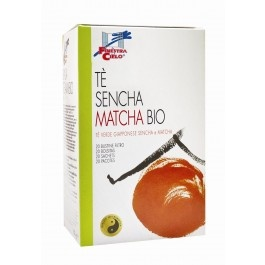 Ceai verde bio Sencha si Matcha 40g (20 plicuri)
