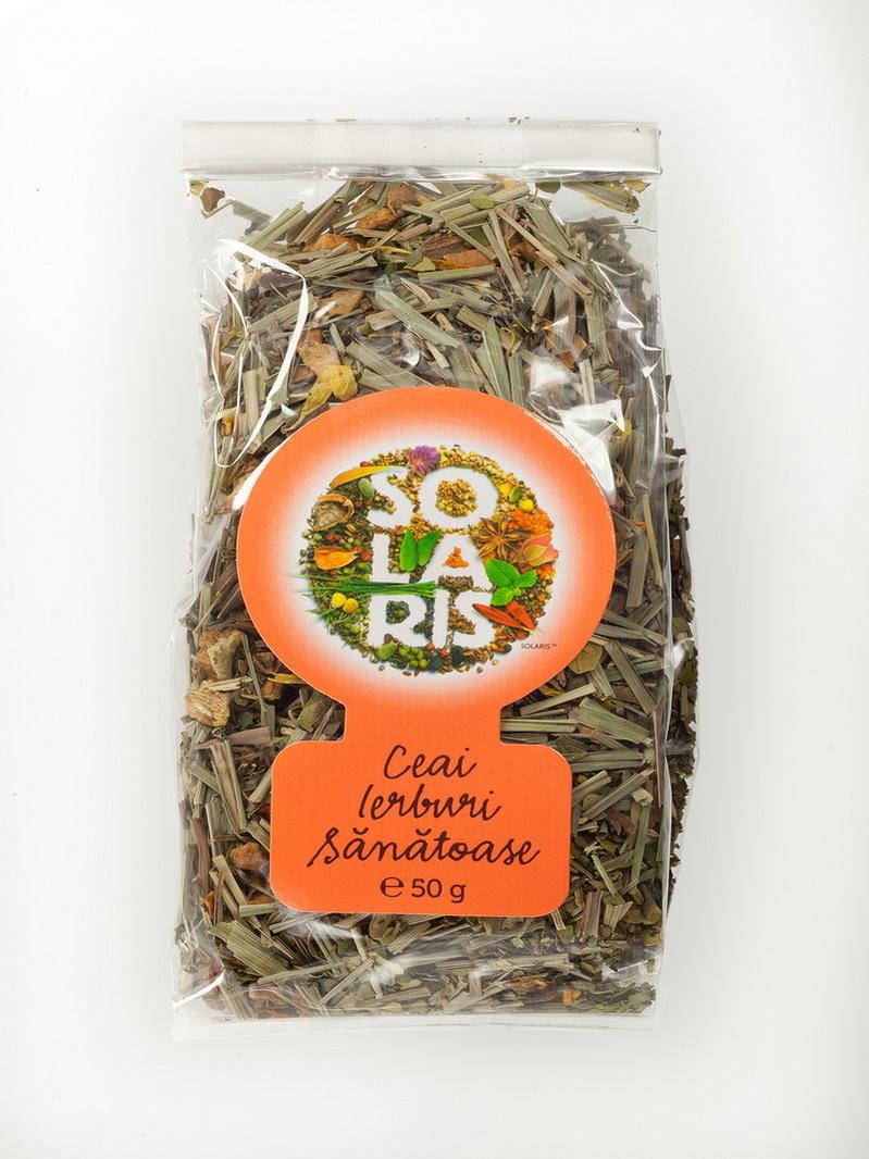 Ceai ierburi sanatoase Solaris 50 g