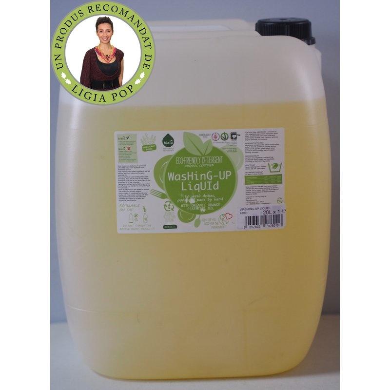 Detergent ecologic vrac pentru spalat vase 20L