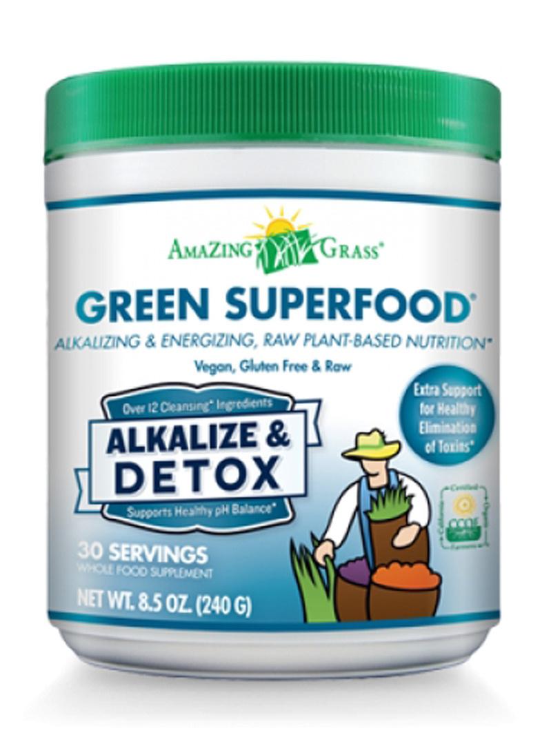 Bautura din iarba de grau - Alkalize & Detox, 30 portii