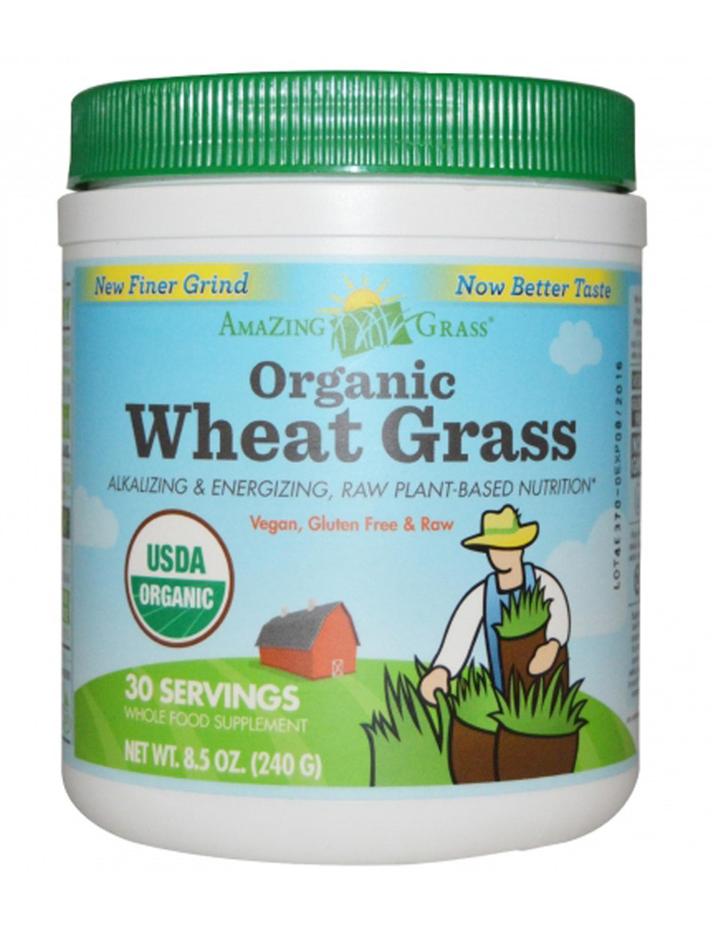 Bautura din iarba de grau - Wheat Grass, 30 de portii