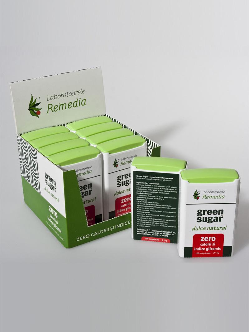 Green Sugar dispenser 200 cpr