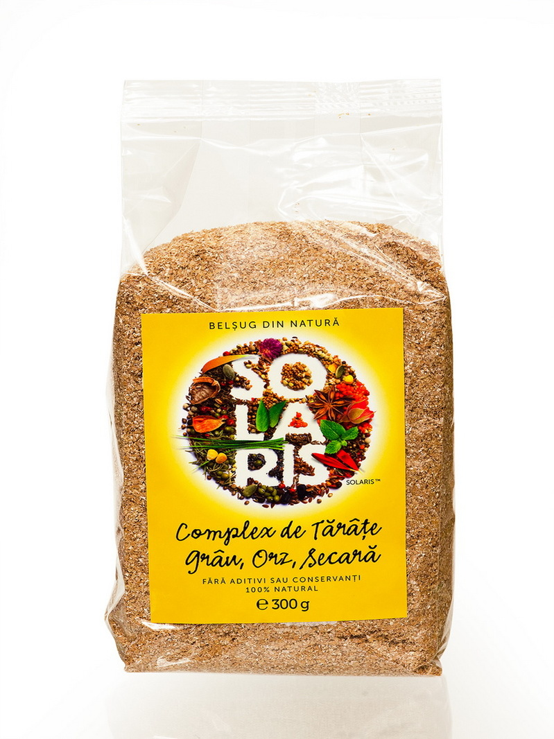 Complex tarate de grau, orz, secara Solaris 300 g