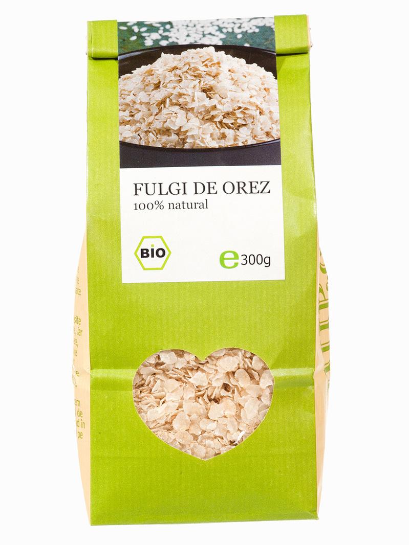 Fulgi de orez BIO Longevita 300 g