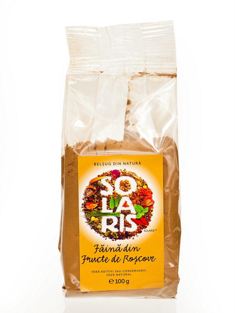 Faina din fructe de roscove Solaris 100 g