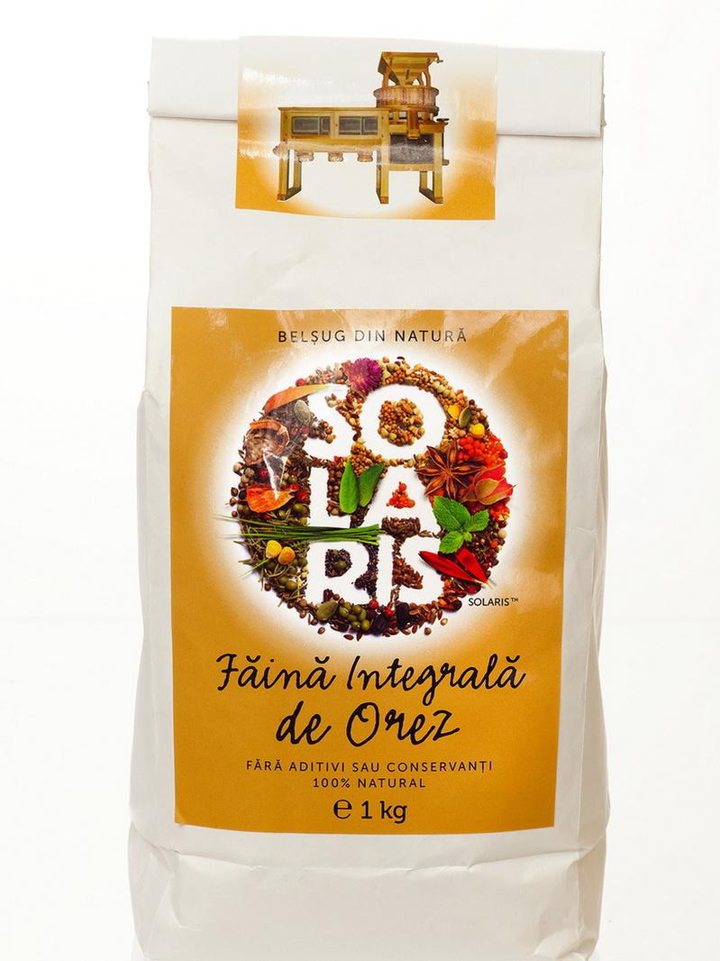 Faina integrala de orez Solaris 1 kg