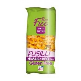 Paste bio Fusilli din porumb si orez  500g (fara gluten)