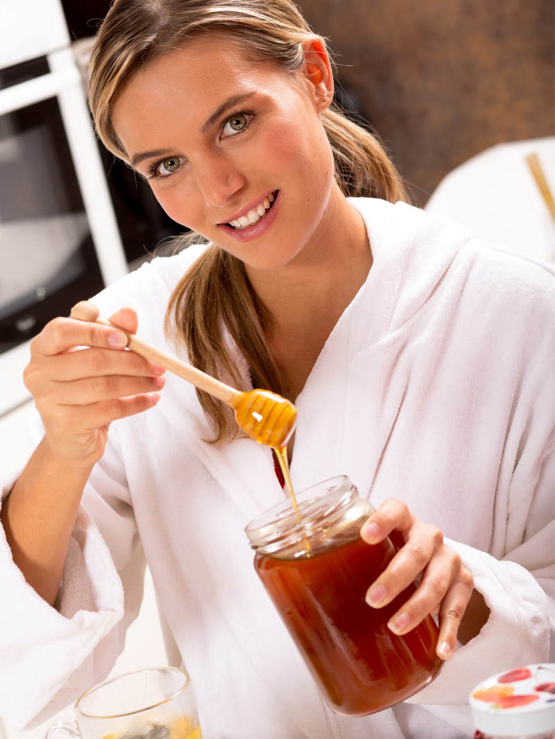 Mierea, produsul perfect pentru frumusete