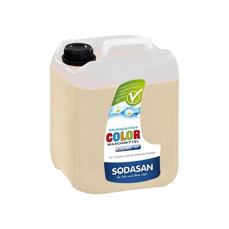 Detergent Bio Lichid Rufe Albe si Color Lavanda 5 L Sodasan