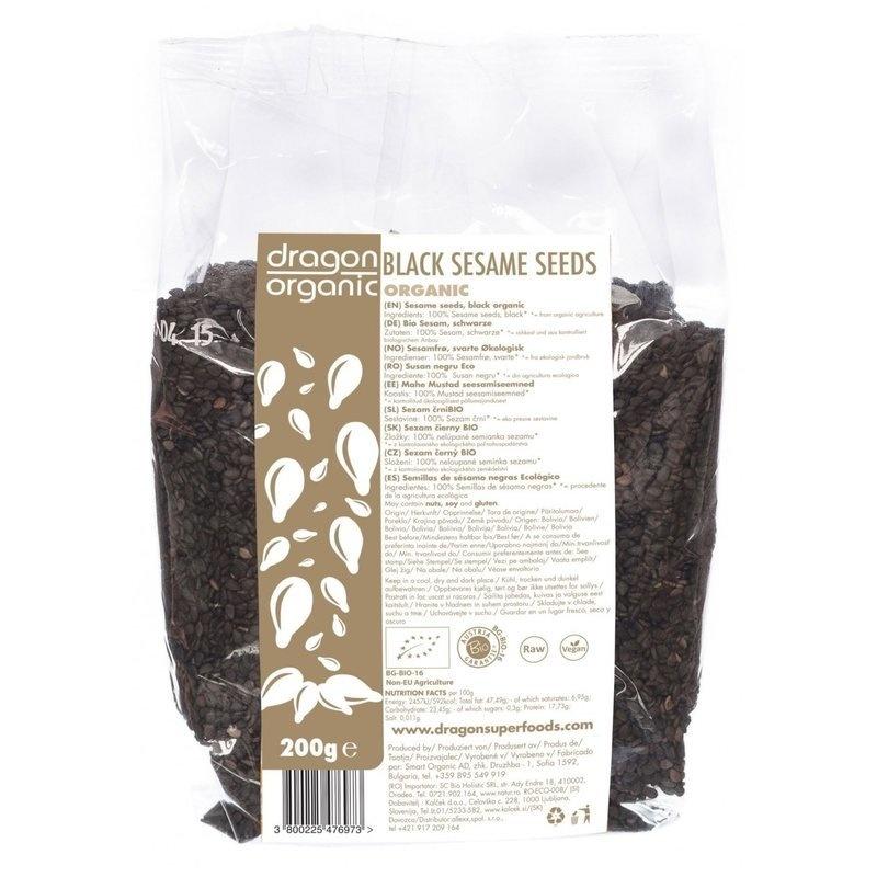 Susan negru raw bio 200g DS