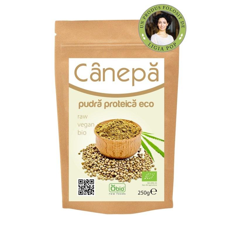 Canepa pudra proteica raw bio 250g PROMO