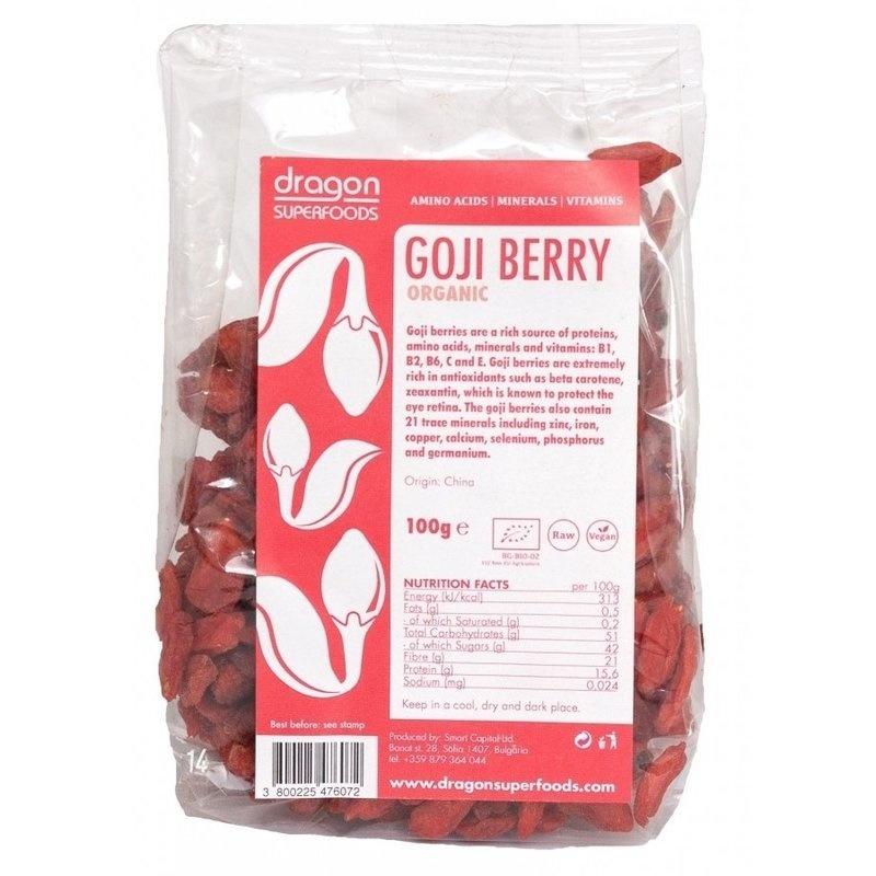 Goji berry raw organic 100g DS