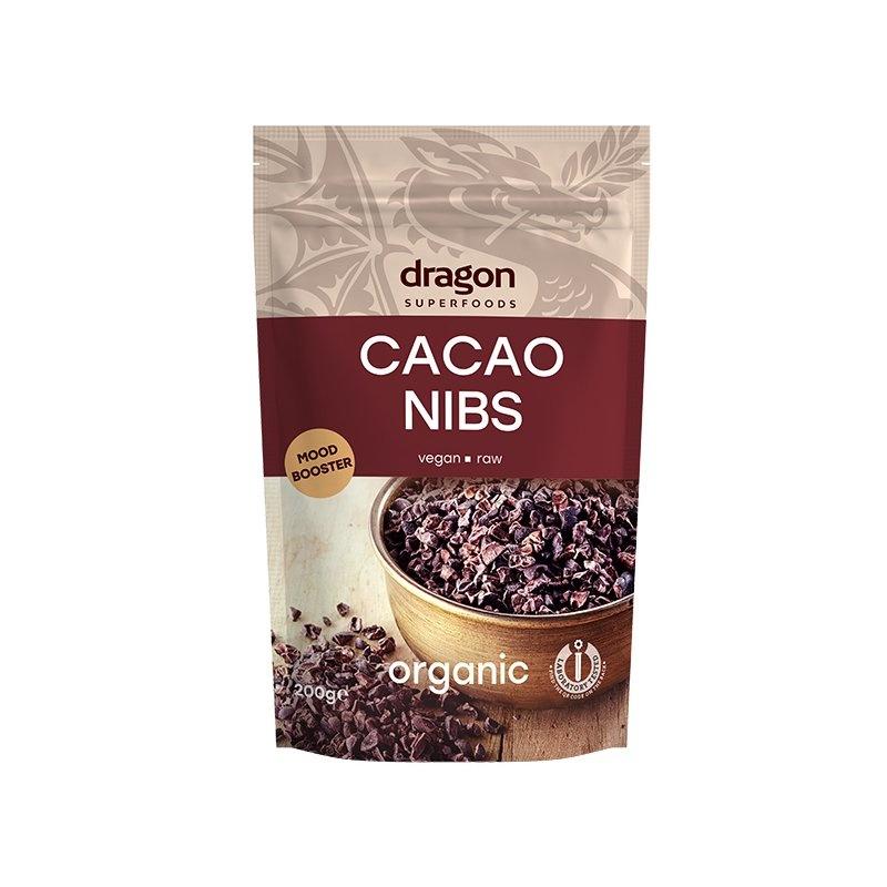 Miez din boabe de cacao bio 200g DS